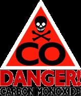 danger, carbon, danger intossicazione